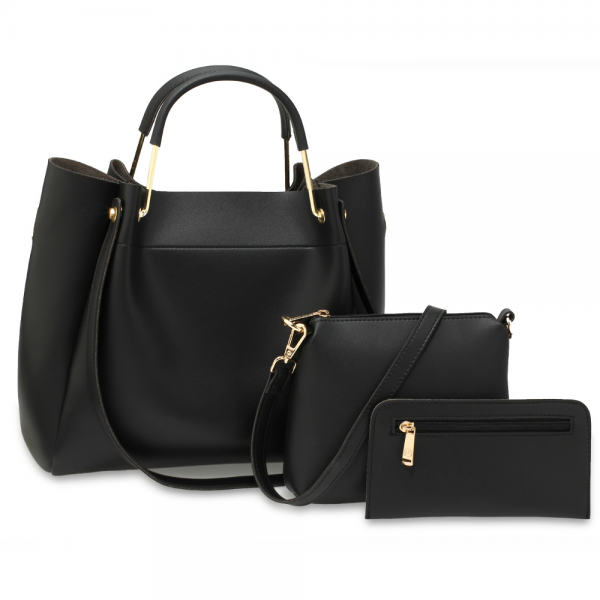 Black-Women's-Fashion-Handbags