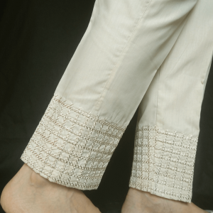 Embroided Trouser Pant For Women