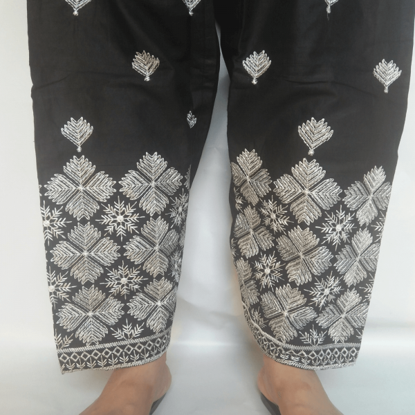 OSS09 Embroided Shalwar For Women Ladies – Cotton Lawn – For Summer