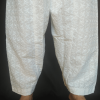 Chikan Shalwar For Women Ladies White