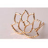 AH07 – 2 Pack of 2 – Floral Gold – Hair pins Clips