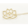 AH07 – 3 Pack of 2 – Floral Gold – Hair pins Clips