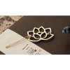AH07 — 5 Pack of 2 – Floral Gold – Hair pins Clips