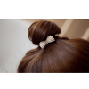 AH08 – 1- Pack of 2 Pearl Gold Hair pins Clips