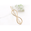 Pack Of 3 Hair Pins Clips Silver and Gold