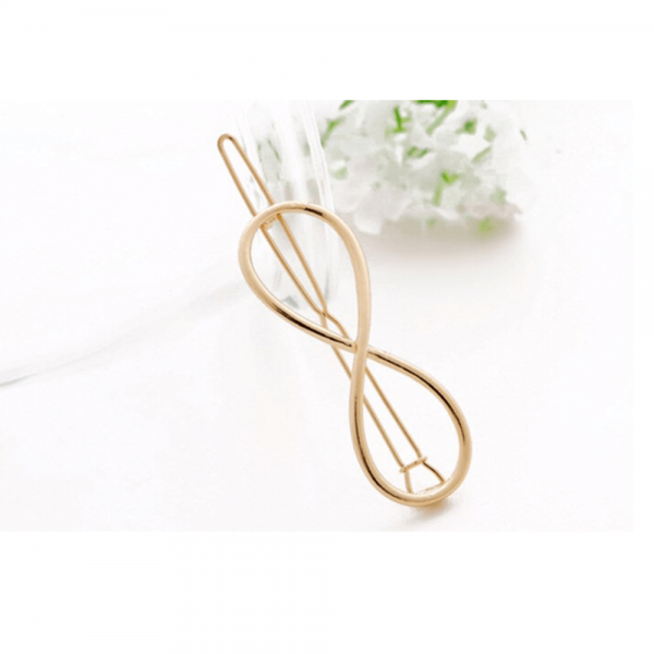 AH10 – -3 Pack Of 3 – Hair Pins Clips – Silver and Gold