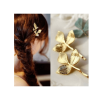 Pack Of 3 - Hair Pins Clips - Silver and Gold