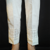 ZT125-3Off White – Trouser Pant For Ladies Women With Lace