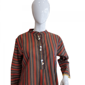 Multi Striped Top For Women Soft Cotton
