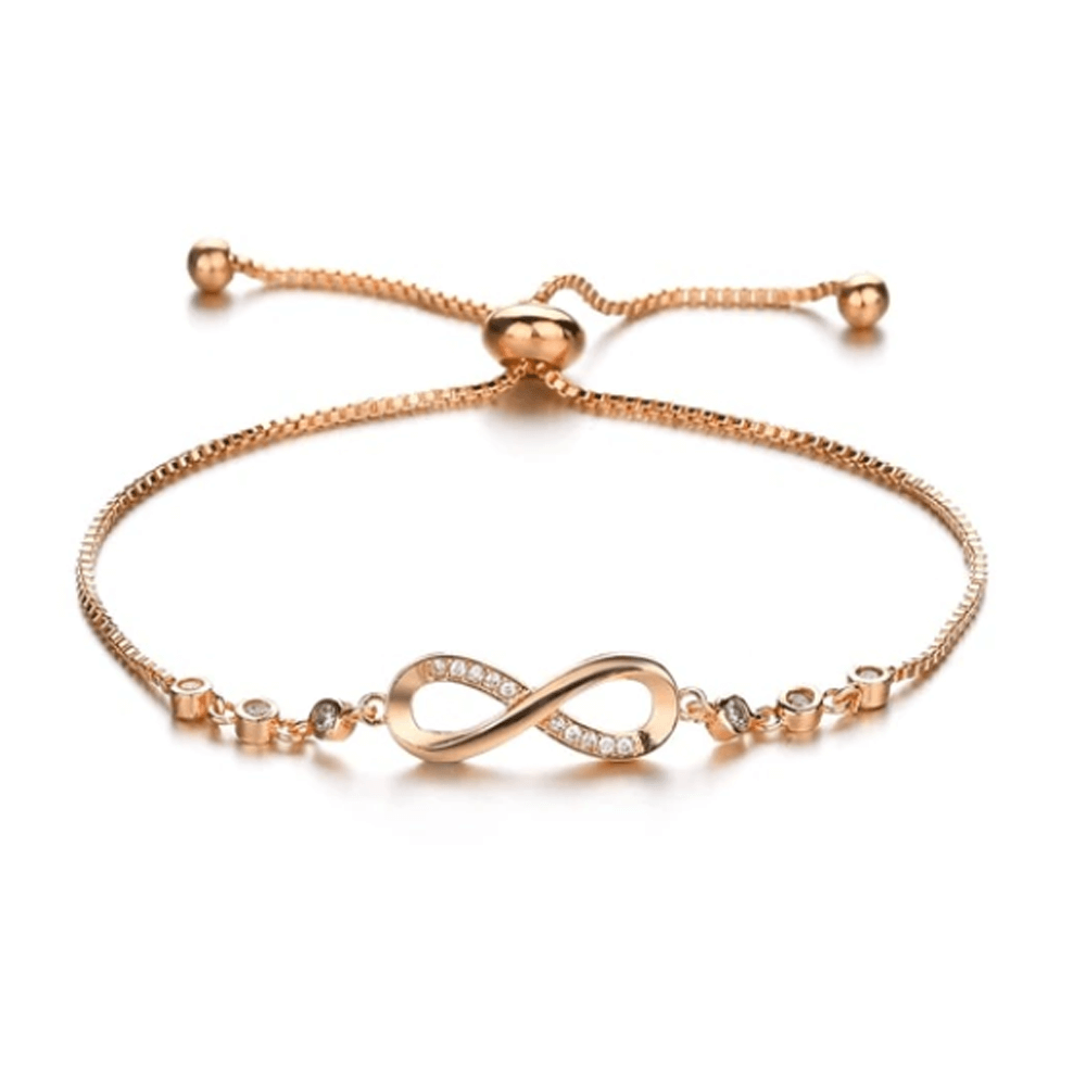 Adjustable Fashion Bracelet For Women - Gold