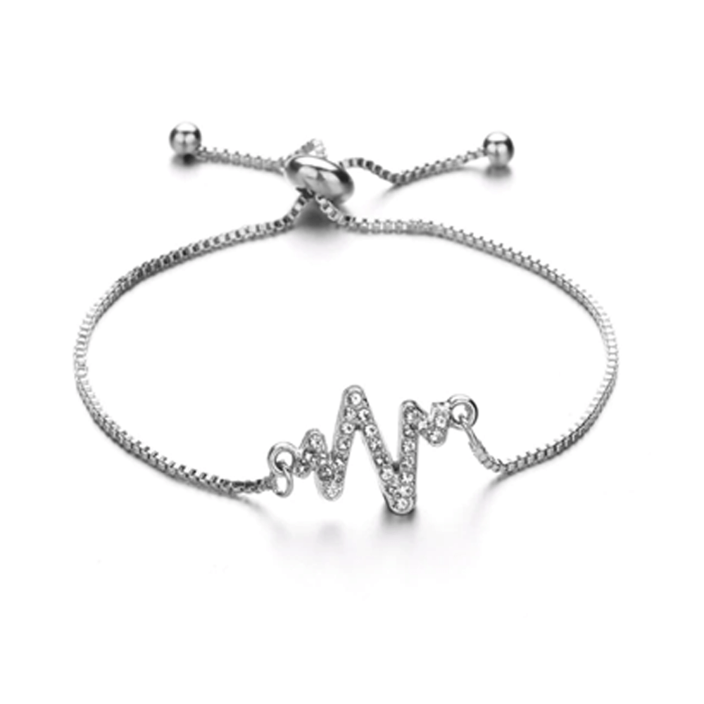 Adjustable Fashion Bracelet For Women Silver