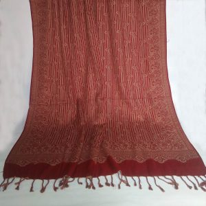 Winter Warm Woolen Shawl For Women Ladies - Paisley Design