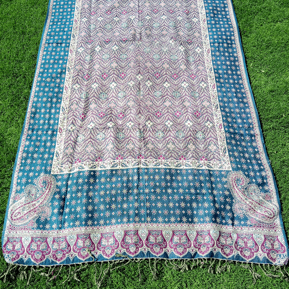 Ladies Winter Shawl Fancy With Tila Work
