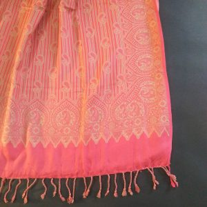 Winter Warm Wool Shawl For Women Ladies Large 2.5 yards Pink
