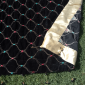 Velvet Shawl Multi Embroided For Wedding Party Winter Warm Large 2.5 yard Black